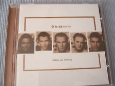 CD-BOYZONE-Where We APPARTIENS -'98 Release
