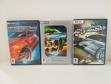Need For Speed Underground 1,2 and most wanted 3 games bundle