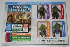 Teenage Mutant Ninja Turtles Tmnt Action Figures 2-Disc Blu-Ray Dvd Gift Set New