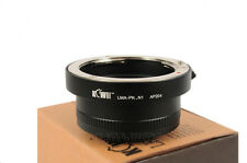 Objektivadapter passt zu Pentax K-Bajonett Objektiv an Nikon 1 Anschluss Kamera