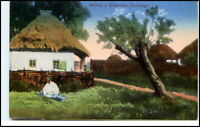 Widoki z Królestwa Polskiego AK Polen ~1919 Postkarte
