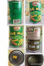 Pac-Man 1984 Bally Midway Mfg. Chef Boyardee Pasta Empty Can PAC MAN