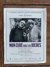 Pastillas My Cure entre Personas Riches Henri Diamant-Berger Yves Deniaud