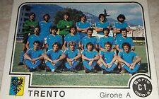 FIGURINA CALCIATORI PANINI 1980/81 TRENTO N° 419 ALBUM 1981