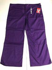 Scrub Bottom GelScrubs Purple Scrub Bottom Cargo Pants Size Xl Unisex