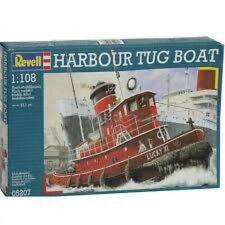 Revell Harbour Tug Boat 1/108 Model Kit #20396