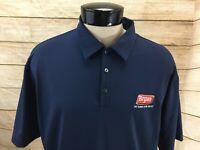 Nike Golf Polo Shirt Men's L Blue Bryan Logo Flavor of the South