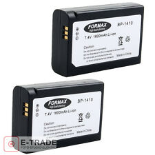 2pcs -- NEW Battery for Samsung NX30 WB2200 WB2200F BP1410 Li-ion EU Stock