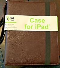 Protective Case For iPad 5th & 6th Generation- Faux Leather with Strap-NEW w/Tag