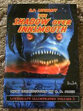 THE SHADOW OVER INNSMOUTH H.P.Lovecraft new intro Joshi 1st illustrated HC PS