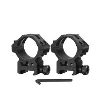 Metal 30mm Ring Low Profile 20mm Picatinny Rail Scope mount for rifle hunting
