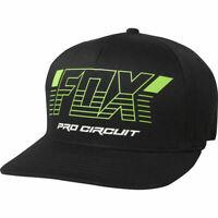NEW Fox Racing FOX x PRO CIRCUIT FlexFit Hat BLACK S/M L/XL LIMITED EDITION
