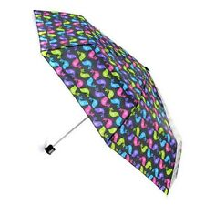 "Rainbow Colors Love Birds Kissing Umbrella Big 42"" Coverage Partridge Pride New"