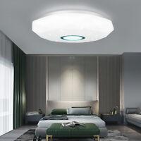 LED Flush Mount Modern Ceiling Light Panel Lamp 36/72 Watt Home Hotel Fixture 1