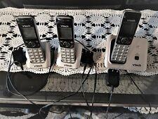 Vtech Cs 6619-3 3 Handset Cordless Phone W/ Caller Id/Call Waiting Dect 6.0