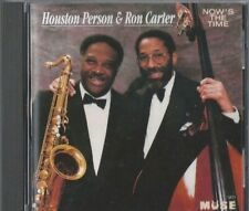 HOUSTON PERSON & RON CATER Now's the Time CD OOP JAZZ MUSE RECORDS
