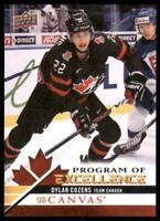 2020-21 UD Series 2 UD Canvas Canada Program of Excellence #C263 Dylan Cozens RC
