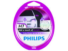 2x NEW PHILIPS COLOR VISION H7 PURPLE 12972CVPPS2 HEADLIGHTS BULBS    PACK OF 2