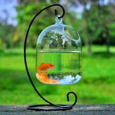 New Hanging Transparent Glass Vases Fishbowl Fish Tank Handmade Aquarium Decor
