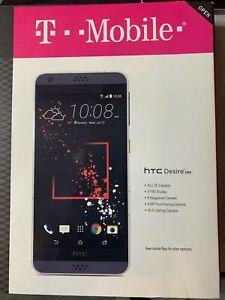 Open box HTC Desire 530 16GB, Wi-Fi Cellular (T-Mobile) Smartphone White Speckle