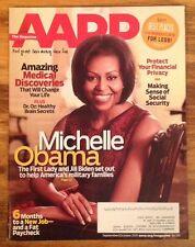 AARP  October 2011 Magazine Michelle Obama