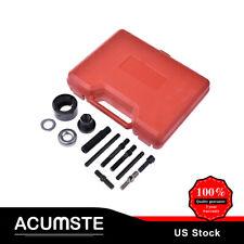 13PC Pulley Puller & Installer Power Steering Pump DIY Remover Alternator AC Kit