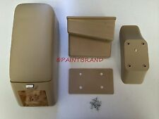 VW GOLF JETTA GTI RABBIT MK5 Center Console Armrest Storage TAN LEATHER BNIB
