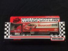 Matchbox Superstar Transporters Motorcraft Morgan Shepard