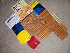 Lincoln Logs Bulk 112 Pieces Includes Two Instruction Sheets