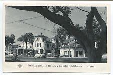 CARLSBAD, CA VINTAGE PHOTO POSTCARD Carlsbad Hotel by the Sea FRASHERS FOTOS