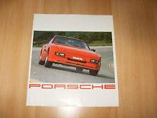 Ancien / vintage catalogue PORSCHE 944 924 911 SC TARGA TURBO 928 S - 1981 FR NL