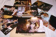 LE DEMON DANS L' ILE ! jeu 10 photos cinema lobby cards fantastique horreur