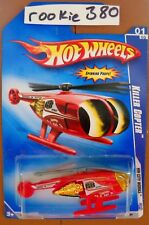 2009 Hot Wheels HW CITY WORKS #107 ∞ KILLER COPTER ∞ RED CHANNEL 68 NEWS