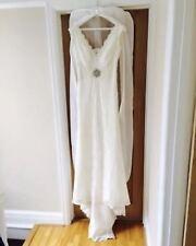 Lace Wedding Dress Size 8 (stunning Eldorra Gown)