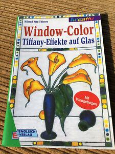 Buch Window Color Tiffany-Effekte auf Glas