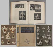 1910 Antique 1st Ed K. Berling, Europes Meissen Porcelain 200th Anniversary Book