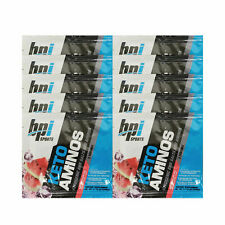 BPI Sports Keto Aminos Watermelon Ice 10 One Serving Packets