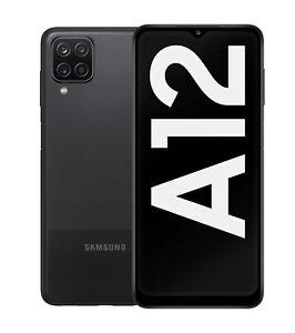 Samsung Galaxy A12 (A127F) - Schwarz (black) - 64 GB - Dual-SIM - NEUE VERSION