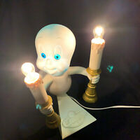 Vintage Halloween Decoration Casper The Ghost Lighted Blow Mold 1995