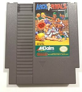 Arch Rivals Basketbrawl ORIGINAL Nintendo NES Game TESTED + WORKING + Authentic