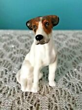 Royal Doulton Seated Foxhound Terrier Dog Figurine K7 Porcelain