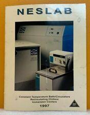 Neslab Instruments, Inc 1997 Constant Temperature Apparatus Catalog.