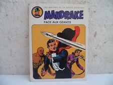 Mandrake Le Magicien face aux géants BD hachette 3e trimestre 1973