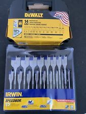 DEWALT Hole Saw Kit and Irwin SpeedBor