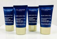 CLARINS Multi-Active Nuit Targets Fine Lines All Skin 2 oz (4x0.5) Sealed Unbox