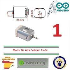 Micro Mini Motor Eléctrico DIY Tipo 130 1V a 6V DC 2000 rpm  Electric Motor D43