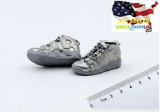 1/6 Men Silver Sneakers shoes HOLLOW AD basketball for hot toys phicen ❶USA❶