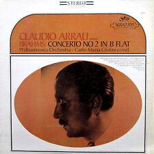 S-60052 Claudio Arrau Brahms Piano Concerto 2 Giulini NEAR MINT Seraphim Stereo