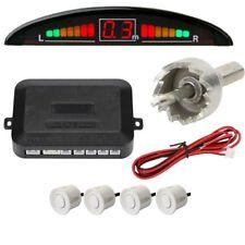 Autosky Reverse Car Parking Sensor System For All Cars( white )