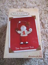 Hallmark Keepsake Ornament 2002 The Biggest Fan